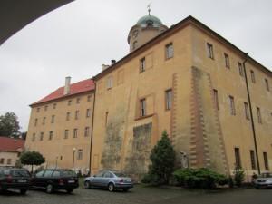 Замок в Подебрадах