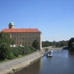 Замок в Подебрадах, учебный корпус UJOP