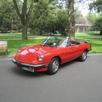 Выставка итальянских авто в Подебрадах