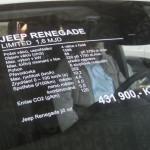 Автошоу Прага, Jeep Renegade