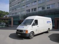 Арендованный для перевозки фургон